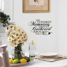 Wall Decals For Dining Room 22 Best Wall Decal Ideas Images On Pinterest Kitchen Walls Home