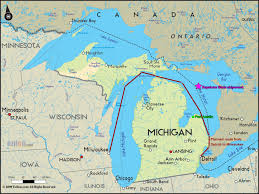 Michigan Indian Tribes Map by The History Blog 2013