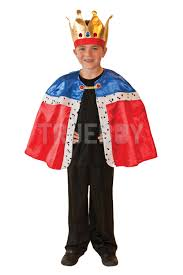 cape for halloween costume childs new king cape u0026 crown or knight of the realm fancy dress
