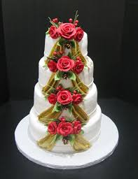 fun christmas cake decoration ideas e2 80 93 simple wedding cakes