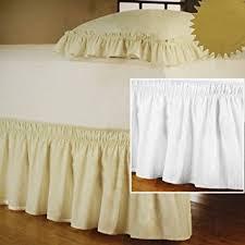 amazon com new wrap around bed skirt dust ruffle 18