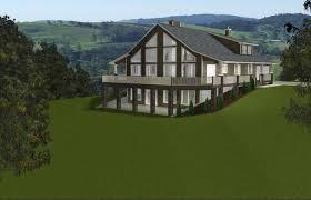 walkout basement design house plan walkout basement plans on lake ranch with rustic modern