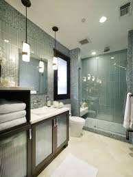 glass tile shower houzz
