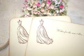 Bridal Shower Wish Bridal Shower Wishes
