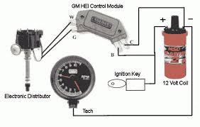 wiring diagram 1975 chevy hei distributor wiring diagram regarding