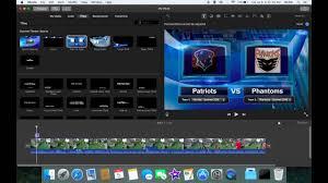 scoreboard tutorial on imovie for mac youtube