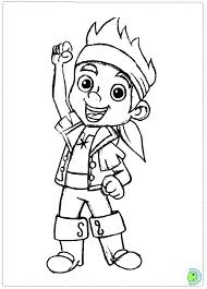 jake neverland pirates coloring pages print 11751
