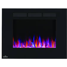 napoleon allure 32 inch wall mount electric fireplace nefl32fh