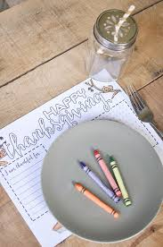 thanksgiving placemats for kids free printable thanksgiving placemat our handcrafted life