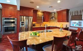 kitchen kitchen remodel ideas cherry cabinets dinnerware