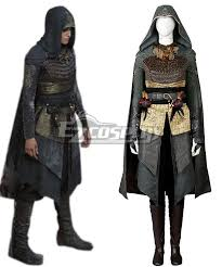 Assassin Halloween Costumes Creed Movie Maria Cosplay Costumes Including Boots
