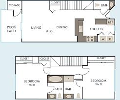 Bathroom Floor Plan by Floor Plans Hidden River Townhomes 2 U0026 3 Bedroom Apartments