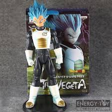 25cm cartoon dragon ball vegeta cool men pvc action figure doll