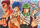 Vote (Gintama vs Toriko) ถ้าจตุรเทพของเรื่องโทริกะ มาสู้กับจตุรเทพ ...