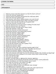 best 25 character development sheet ideas on pinterest