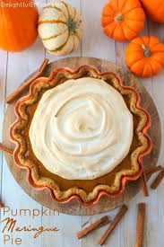 pumpkin meringue pie delightful e made