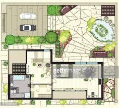Water View House Plans House Plan Vector Art Getty Images