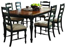 black dining room set black and brown dining room sets fascinating ideas traditional