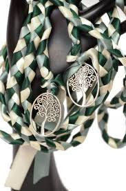 celtic handfasting cords forest tree of wedding handfasting cord theme