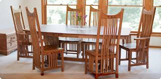 Amish Dining Room Tables Amish Furniture Factory Amish - Mission dining room table