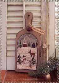 deer snowman punch needle hornbook ebay 2 oldekrows