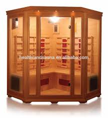 corner type 5 person infrared sauna room keys backyard sauna bath
