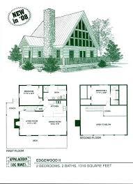 best cabin floor plans best small log home plans processcodi