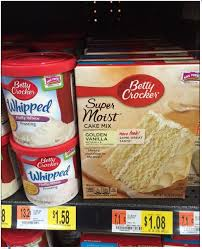 betty crocker super moist cake mix and frosting under 1 per item
