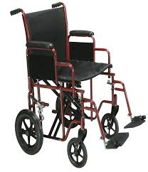 full support reclining wheelchair 18inch mobb home health care usa