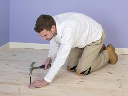 Leveling A Wood Floor For Laminate How To Install Subflooring For A Wood Or Concrete Floor How Tos