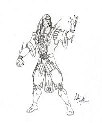 8 kids coloring pages mortal kombat print color craft