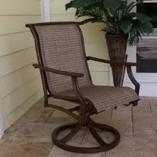 Hton Bay Swivel Patio Chairs Bronze Patio Chairs Foter