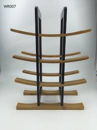 promotional eco friendly bamboo wine display rack from homex homex