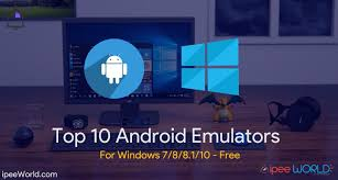 android emulator windows top 10 android emulators for windows 10 8 1 8 7 free