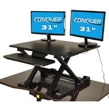 conquer 240 ssdskelec01 motorized standing desk electric sit to