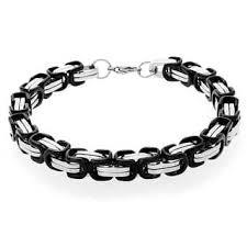 stainless bracelet images Stainless steel men 39 s bracelets for less jpg