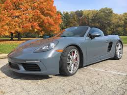 Porsche Boxster 718 - porsche u0027s turbocharged boxster s squeezes out more with less
