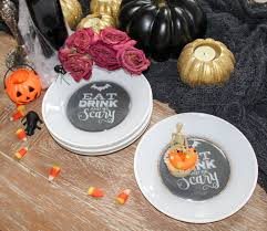 design your own halloween dishes ritzy parties