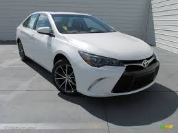 toyota camry 2015 2015 blizzard pearl white toyota camry xse v6 104676729