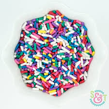 where to buy sprinkles in bulk rainbow jimmies sprinkles rainbow sprinkles gluten free vegan