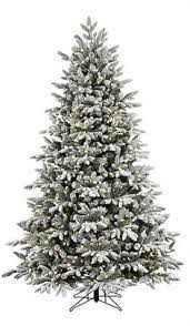7 5 ft pre lit silver artificial tree with 800