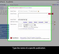 lexisnexis practical guidance lexisnexis academic power search overview youtube