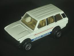 land rover matchbox 1990 wheels range rover and 1975 matchbox range rover police
