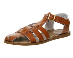 salt water shark sandal tan leather women u0027s shoes online store