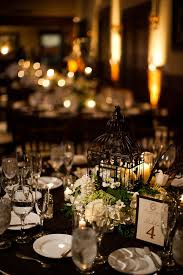 Wedding Reception Table Centerpiece Ideas by 25 Best Black Tablecloth Wedding Ideas On Pinterest Black