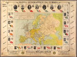 World War I Alliances Map by Geographic Map Of Europe World Digital Library