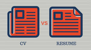 Diference Between Cv And Resume Education