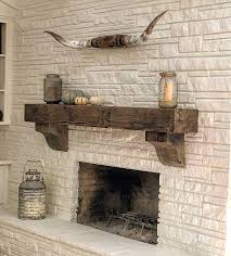 Gas Fireplace Mantle by 24 Best Live Edge Mantels Images On Pinterest Fireplace Ideas