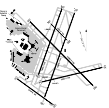 Ewr Terminal Map Airport Runway Layout Diagrams Airports With 4 Or More Runways