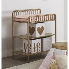 Metal Changing Table Seeds Monarch Hill Metal Changing Table In Gold